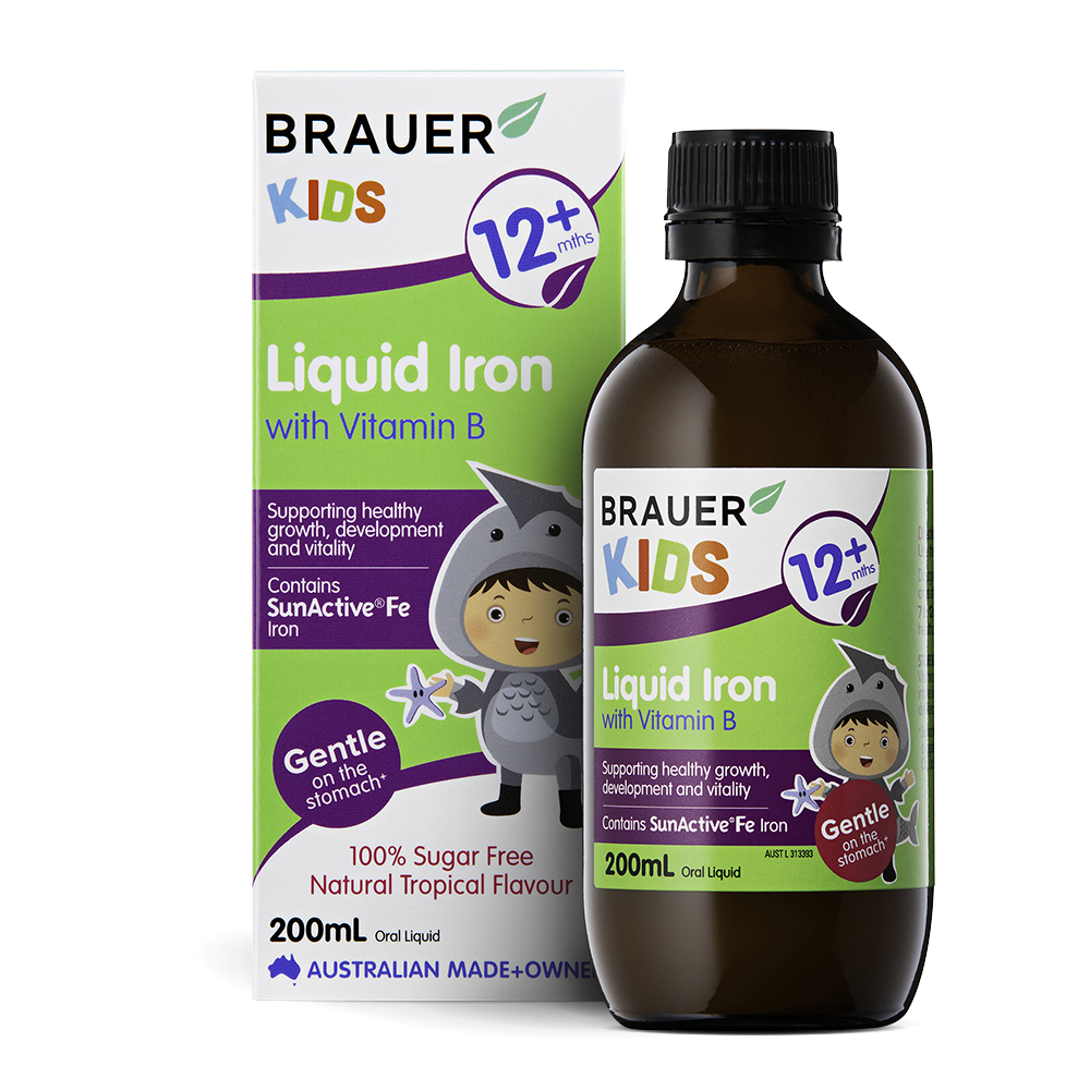 What Are The Benefits Of Brauer Kids Liquid Iron With Vitamin B?